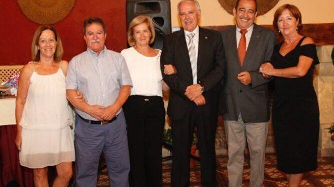 Milagros Navarro, José Manuel Dandy, Mercedes Medialdea, Andrés Álvarez,  José Herrador y Eustaquia Molina.