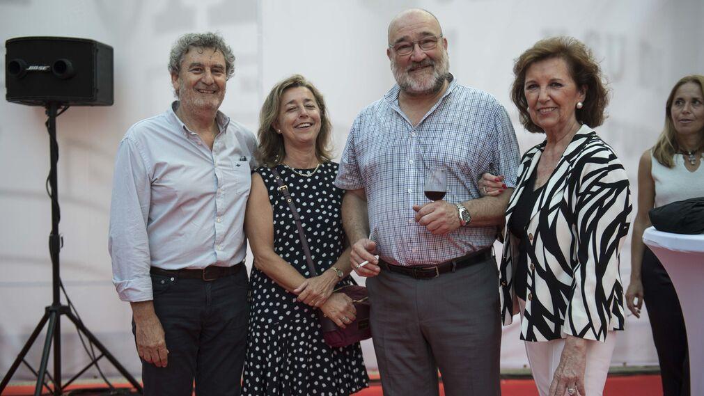 Enrique del Álamo, Paula Marchena, Carlos Fernández y Rosario Martínez.