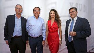 Jaime MacPherson, Luis Núñez, Aurora Martínez y Fernando Estrella.
