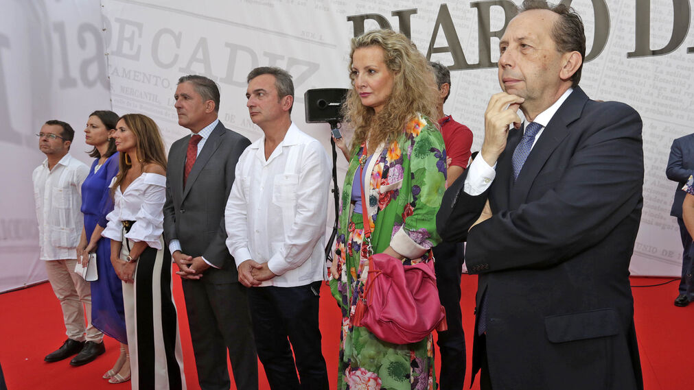 Juan Manuel Marqués Perales, Patricia Cavada, Gemma Pérez, Manuel Estrella, Eduardo Gómez Mazo, Marita Rufino y José Antonio Carrizosa.