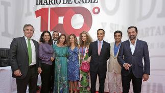 Michael Kreisler, Rosario Joly, Diego Joly, María Jesús Joly, Teresa Joly, Marita Rufino, Federico Joly, Rafael Calero e Íñigo Villagrán.