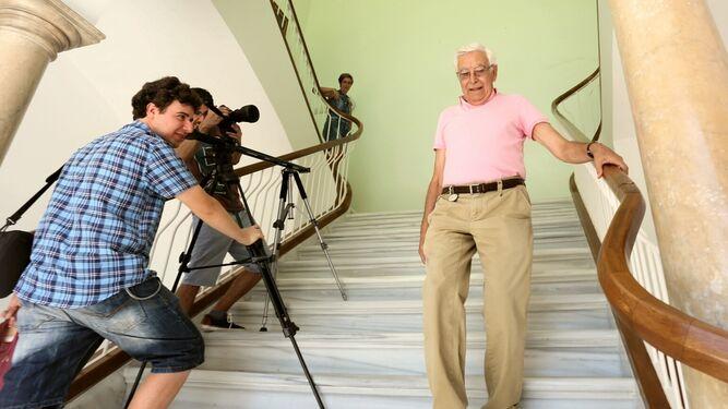 El exalcalde Rafael Gómez Ojeda, uno de los protagonistas del documental.
