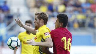 Las imágenes del Cádiz-Villarreal del Trofeo Carranza