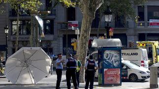 Las imágenes del atropello masivo en Las Ramblas de Barcelona.