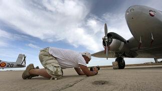 Preparativos en la Base de Rota para la conmemoración del Centenario de la Aviación Naval