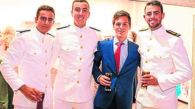 Nacho del Cuvillo Vélez, Carlos Núñez Gutiérrez, Jaime García Figueras y Curro Quijano Martínez.