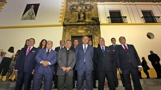La nueva permanente, tras tomar posesión el viernes en Santo Domingo.