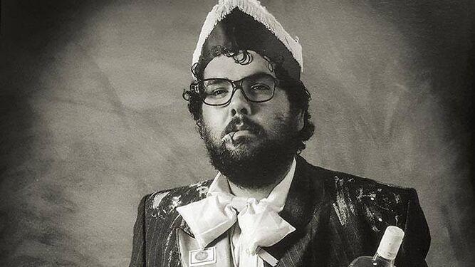 Manolo Cornejo como 'Don Adolfo' en una foto de la colección 'Tipos de cuidao'.