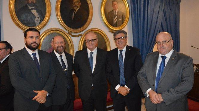 Agustín Bonilla, Juan Antonio García Aragón, Antonio Marín, José Adolfo Baturone y Ramón Hernández.