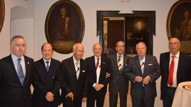 Francisco Javier Barea, Antonio Caldela, Carlos Sacaluga, Jaime Rocha, José Ramón Pérez Díaz-Alersi, Enrique Andrey y Manuel Hernández Reja.
