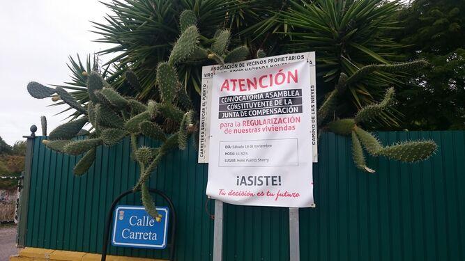 Un cartel anunciador ubicado en Montes de Oca el pasado año, cuando se debatía la conveniencia de sumarse al proceso de legalización.