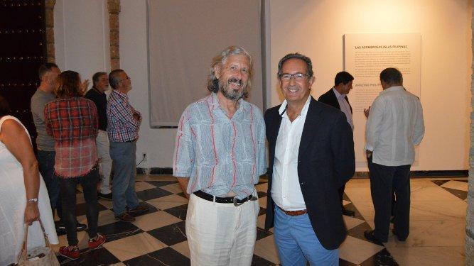 José Manuel Vera Borja con Fernando González García-Betes.