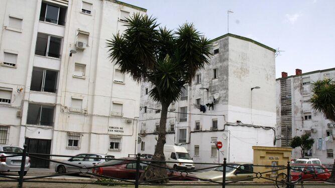 La barriada de Los Milagros, donde se llevó a cabo la intervención.