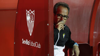 Las imágenes del Sevilla Atlético-Cádiz