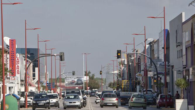 Imagen de archivo de la Avenida de los Descubrimientos, donde se acometerían las obras.