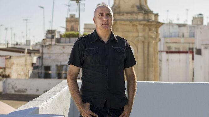 Martín Rodrigo posa para la entrevista. / GERMÁN MESA