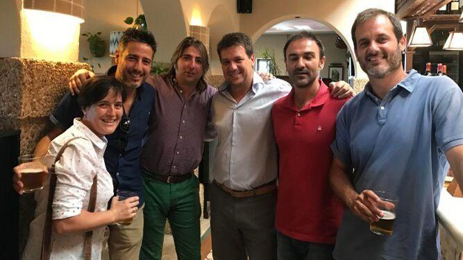 Paloma Bohórquez, Pedro Holgado, Jesús Molinillos, Carlos Becerra y Javier Rodríguez.