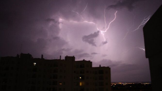 Foto tomada desde el Edificio Estadio, Cádiz