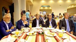 Manuel Larrán, Mikel Elorza, Rafael Fernández, Ignacio González Dorao y Alfonso Domecq.
