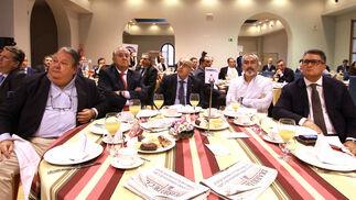 Nicolás Terry, Francisco Soto, Pascual Valiente, José María Vega e Ignacio Romaní.