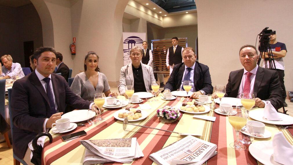 Manuel Queiruga, Raquel Boy, José Ruiz Navarro, Luis García Solé y Francisco Heredia González.