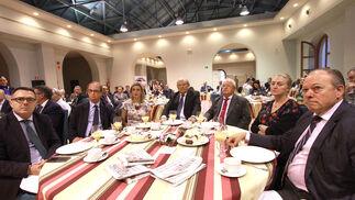Valentín Blanco, Jaime Macpherson, María Teresa Macías, Bingen Garaizar, Emilio Medina, Concha Ribelles y Rafael Ponce.