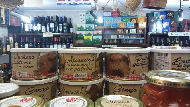 Los guisos en conserva de Sabores de Paterna. Una de las propuestas es el conejo en salsa.
