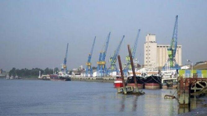 Imagen del puerto de Casablanca, una de las paradas de la comitiva gaditana.