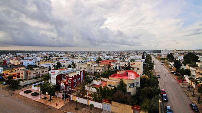 Localidad de Kenitra, donde se proyecta una gran zona portuaria.