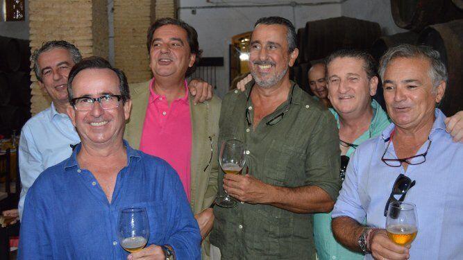 Agustín Sánchez, Gaby López, Ramón Otaolarruchi, José Ruiz Berlanga, Juan Pablo y Alfonso Otaolaurruchi.
