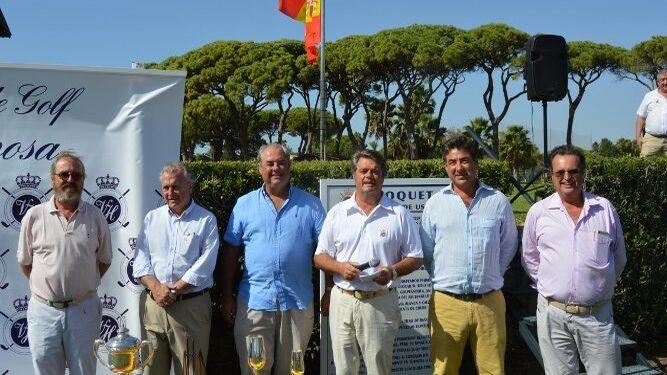 Willy Revuelta, José Álvarez-Sala, José Manuel Domecq, Emilio Valero, Ignacio Gutiérrez-Trueba y Alfonso Pérez-Barbadillo.