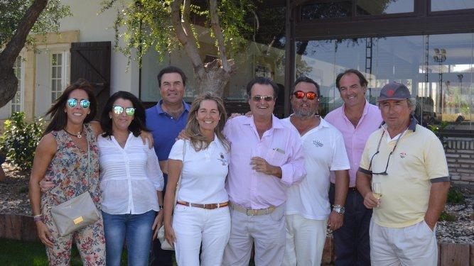 Socorro Benítez, Lola Portela, Dionisio y Susana Romero, Alfonso Pérez-Barbadillo, Rafa Romero, Alfonso Lacalle y Pedro Ruiz Ocejo.