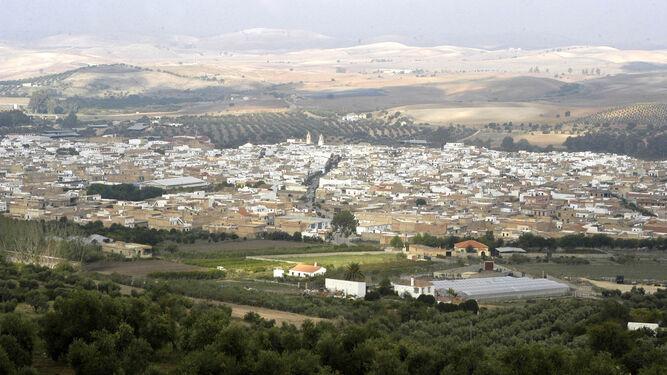 Imagen de archivo de una vista general de Puerto Serrano.