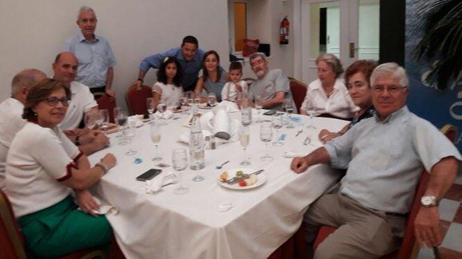 Miguel Málaga, Flor Martín, Marta Álvarez-Ossorio, Fray Teodoro López, Juan Pino, Margarita García, Juan y Belén Laluz, Jerónimo Sevilla, Eduardo García y Matilde Campos.