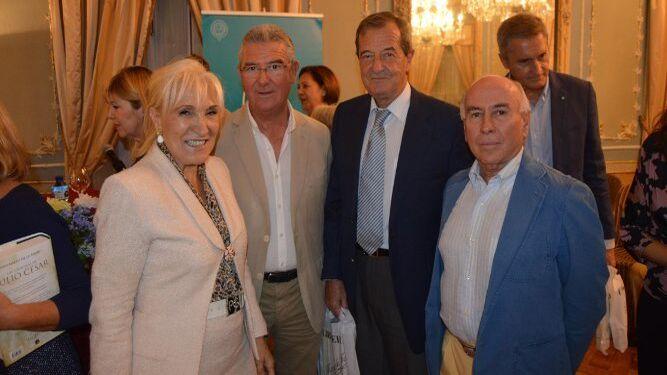 Susi Cigúela, Juan Sandlés, Alfonso Jiménez y Pancho García-Agulló.