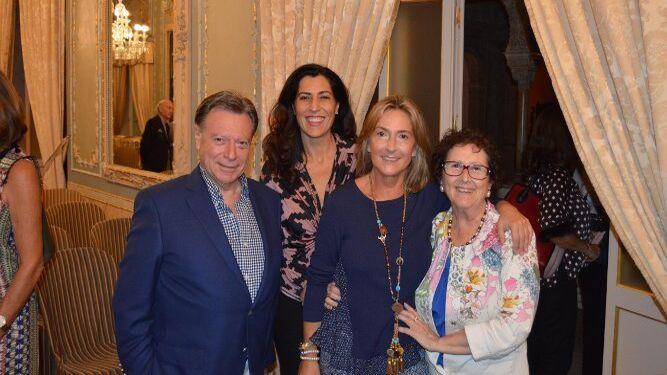 Manolo González Macías, Lola Delgado, Lourdes Serrano y Loren Vilches.