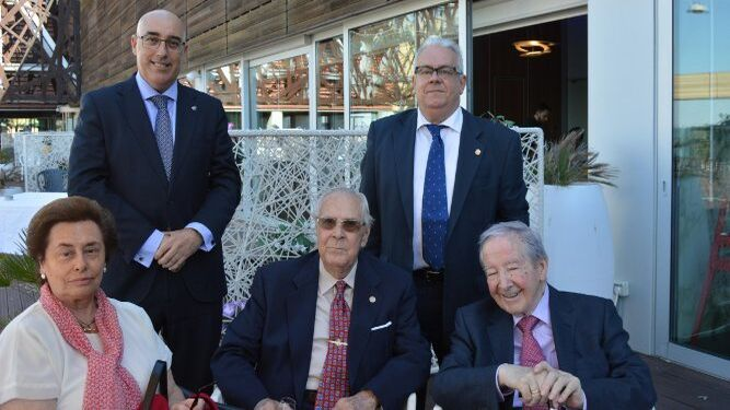 Ana María González, Pascual Valiente, Julio Ramos, José Manuel Jareño y José Mendoza.