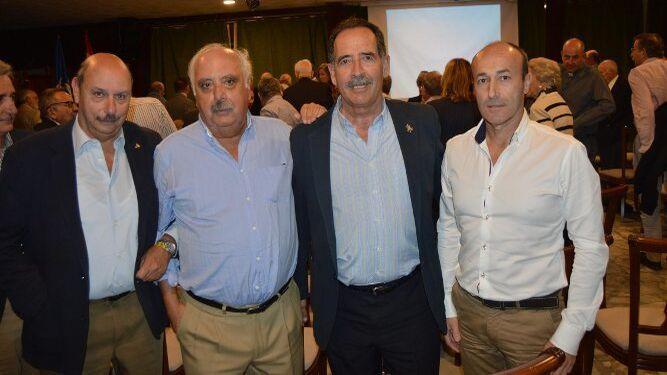 Álvaro Caravaca de Coca, Miguel Zafra, Manuel Sánchez-Gey y Javier Patrón.