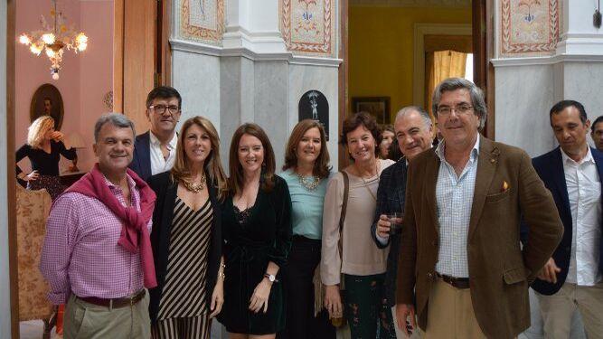 Paco Arenas, Ramón, Cristina y María José Guilloto, Montse Gutiérrez-Trueba, María Ramos, Jaime Sánchez Lacasa y Fernando Guilloto.