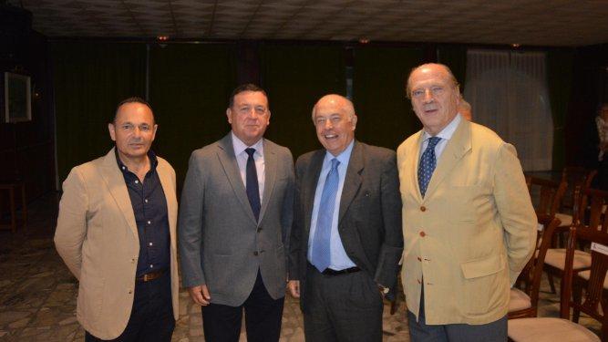 Sergio Pérez Aragón, Antonio Gutiérrez, Jaime Rocha y Guillermo Cervera.