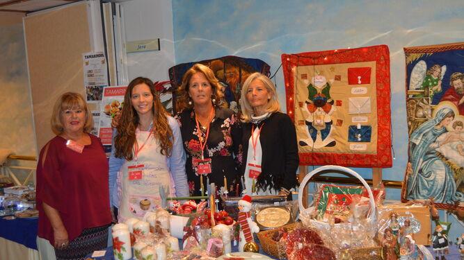 Eloisa Soler, Irene Molina, Fátima Delgado y Paloma García Hernanz.