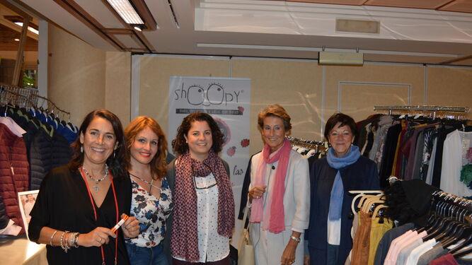 María Casas, Sandra Jordá, Virginia Nuevo, Vicky Ruiz Azcárate y  María Fajardo.