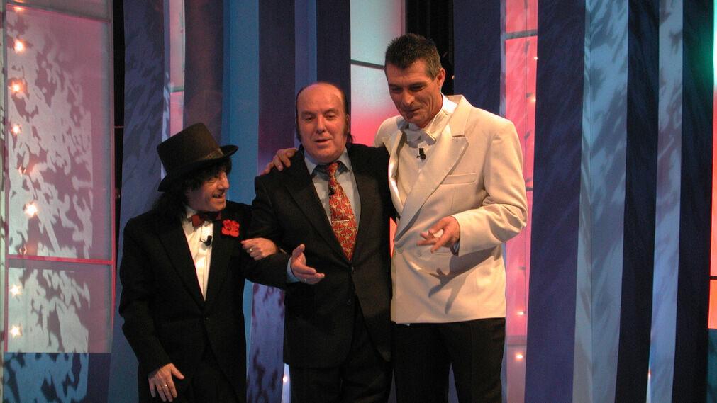Actuación en una gala televisiva de Nochebuena junto al Dúo Sacapuntas