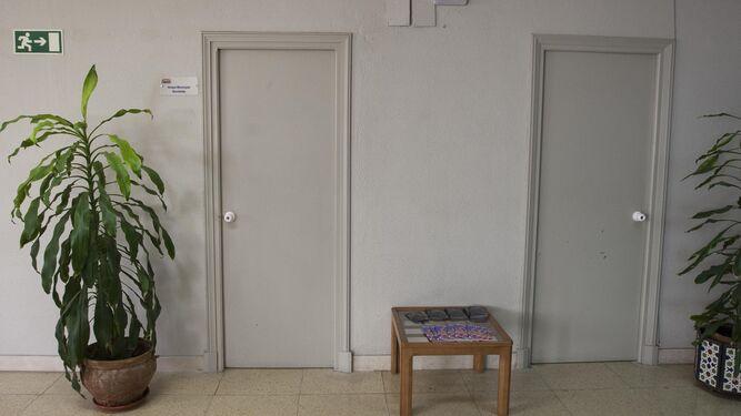 Las oficinas de los grupos en la Casa de la Cultura, cerradas.