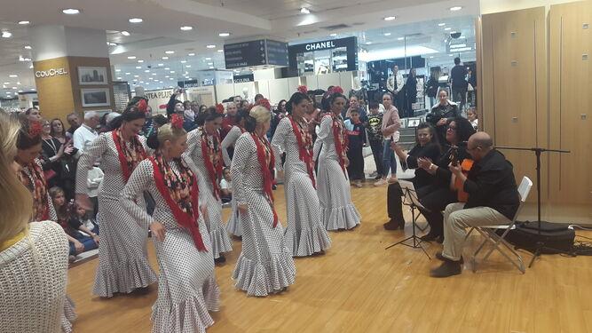 El grupo Taitanto durante su actuación