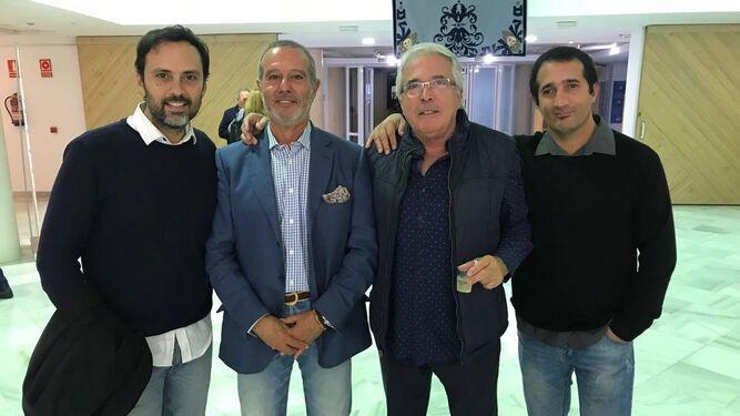 Fernando Devesa, Eduardo Ruiz-Golluri, Juan Ariza y Enrique Cabanillas.
