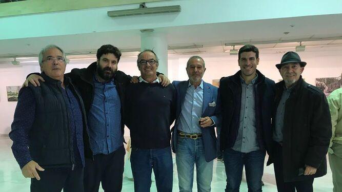 Juan Ariza, Pepe Baena, Fermín Villaescusa, Eduardo Ruiz Golluri, Eduardo Millán y Pepe Palacios.