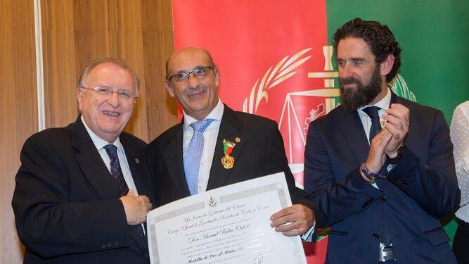 José Blas Fernández, Manuel Rubio Ornella y Juan Carlos Cabrera Pascua.