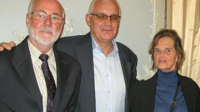 José María Lavilla, Pedro Miguel Sánchez y María Victoria Gómez.