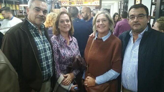 Rafael Prieto, Ani García, Macu Martínez  y Domingo Martínez.